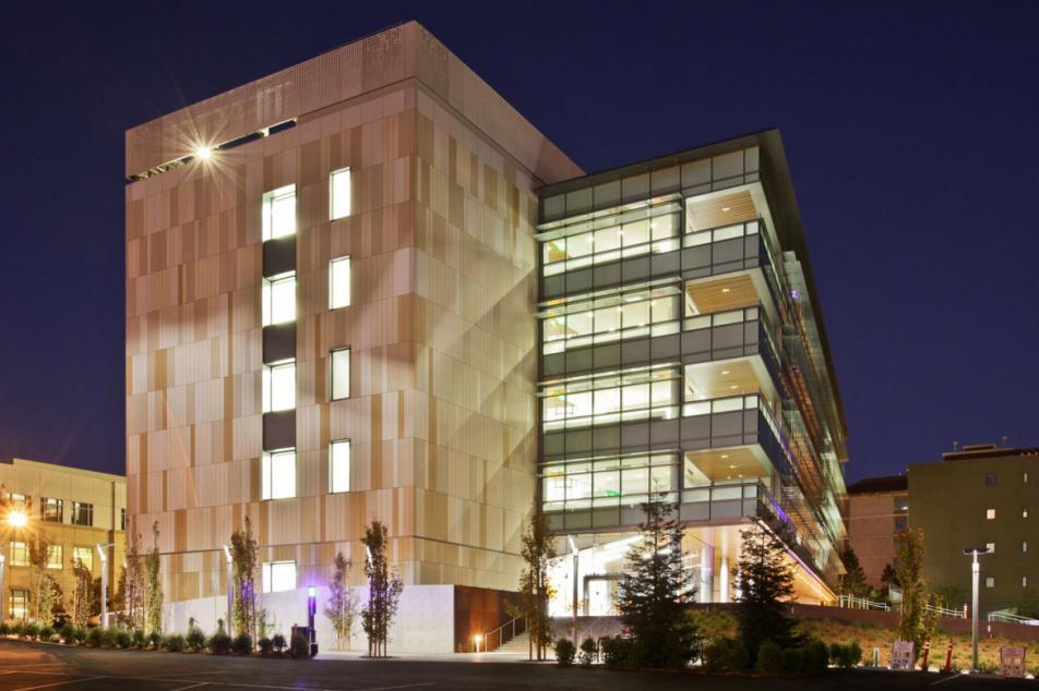 Energy Biosciences Building 4 (night)